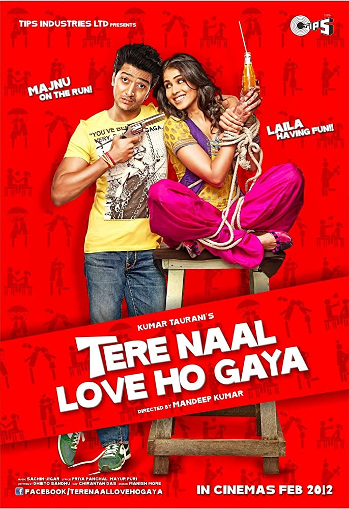Tere Naal Love Ho Gaya 2012 Hindi Movie 400MB HDRip ESubs Download