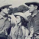 Johnny Mack Brown, James Ellison, and Noel Neill in Whistling Hills (1951)