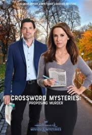 Crossword Mysteries: Proposing Murder Poster