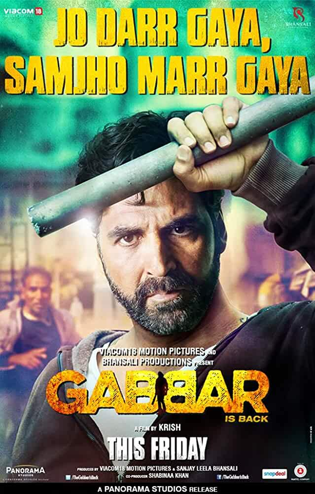 Gabbar Is Back (2015) Hindi Netflix Full Movie Download