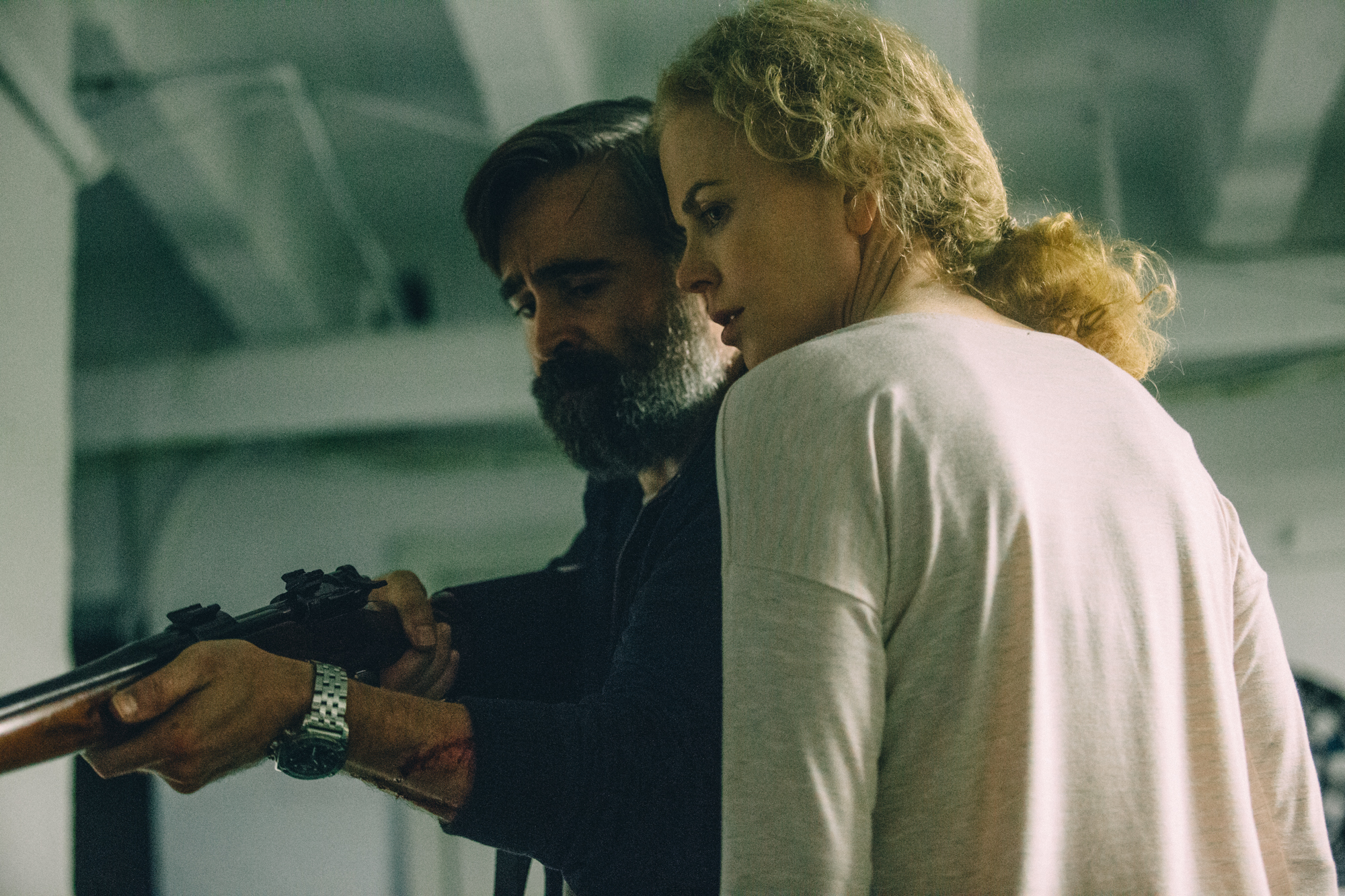 Nicole Kidman and Colin Farrell in The Killing of a Sacred Deer (2017)