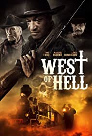 Lance Henriksen, Richard Riehle, Tony Todd, and Michael Eklund in West of Hell (2018)