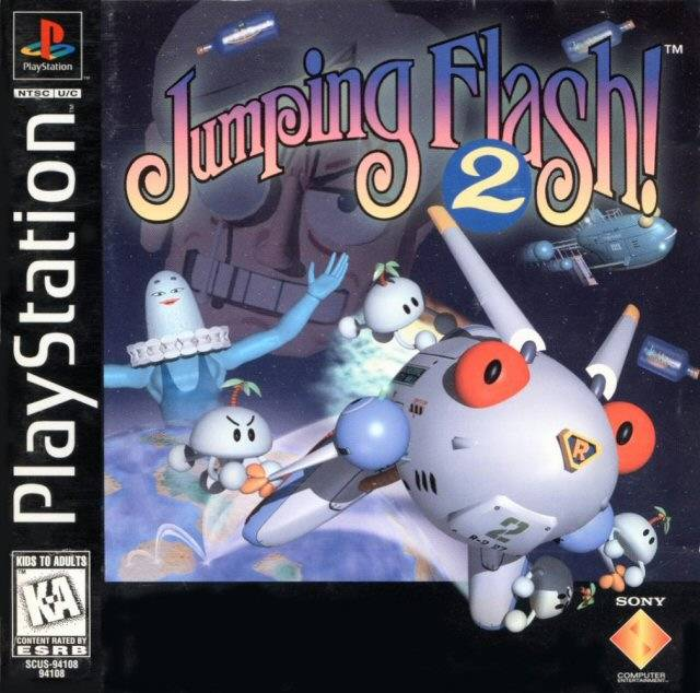 Jumping Flash 2 Video Game 1996