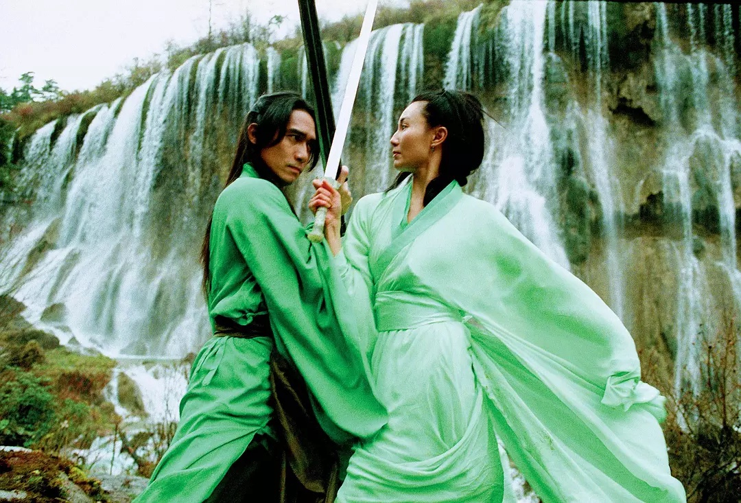 Maggie Cheung and Tony Chiu-Wai Leung in Ying xiong 2002