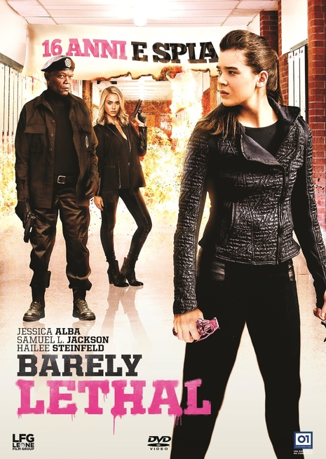 Samuel L. Jackson, Jessica Alba, and Hailee Steinfeld in Barely Lethal (2015)
