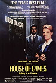 Lindsay Crouse and Joe Mantegna in House of Games (1987)