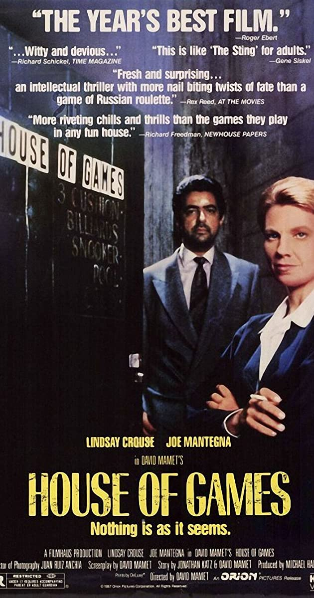 House of Games (1987) Subtitles