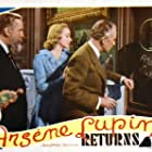 Virginia Bruce, John Halliday, and Monty Woolley in Arsène Lupin Returns (1938)