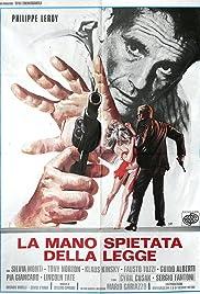 La mano spietata della legge Poster