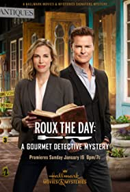 Brooke Burns and Dylan Neal in Roux the Day (2020)