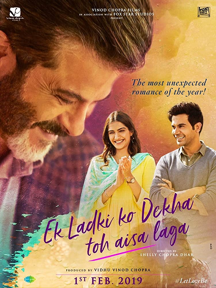 Ek Ladki Ko Dekha Toh Aisa Laga (2019) Hindi 720p HDRip x264 MSubs 900MB