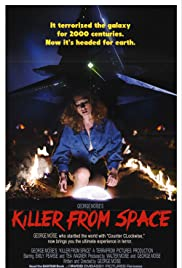 Killer From Space Poster