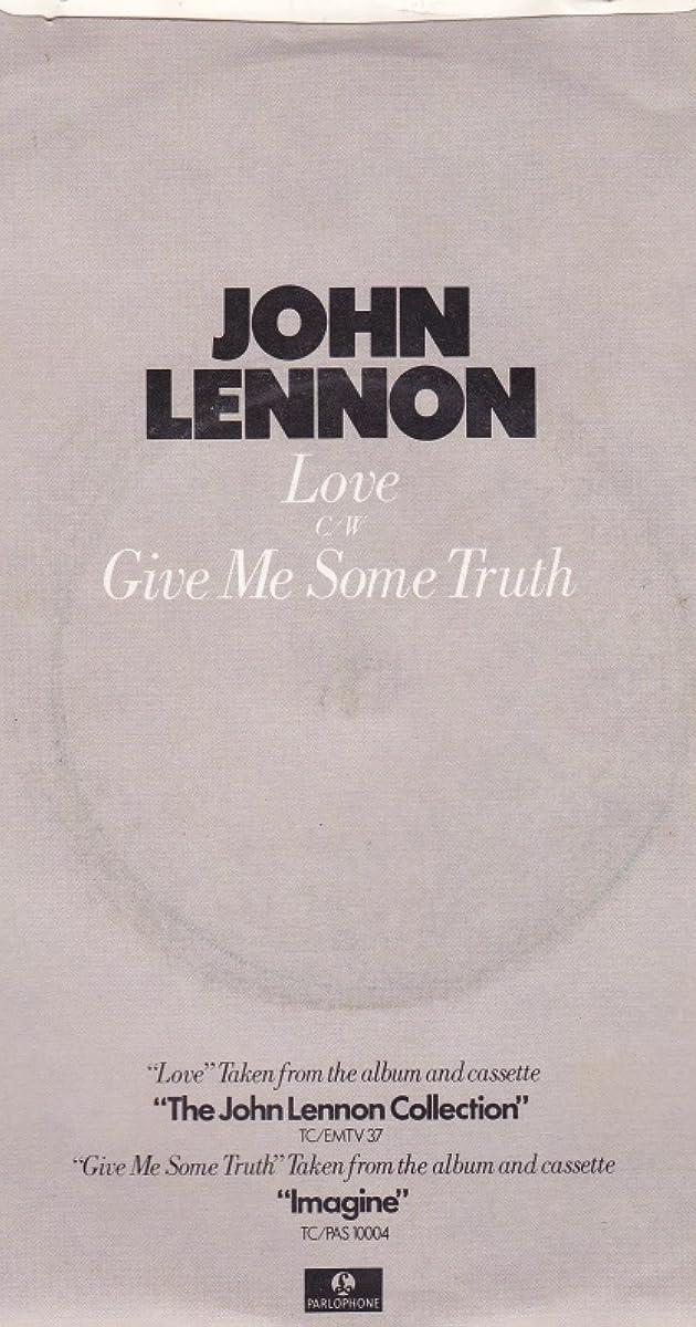 John Lennon Gimme Some Truth Video 1971 Imdb