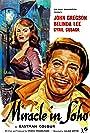 John Gregson and Belinda Lee in Miracle in Soho (1957)