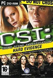 CSI: Crime Scene Investigation - Hard Evidence Poster
