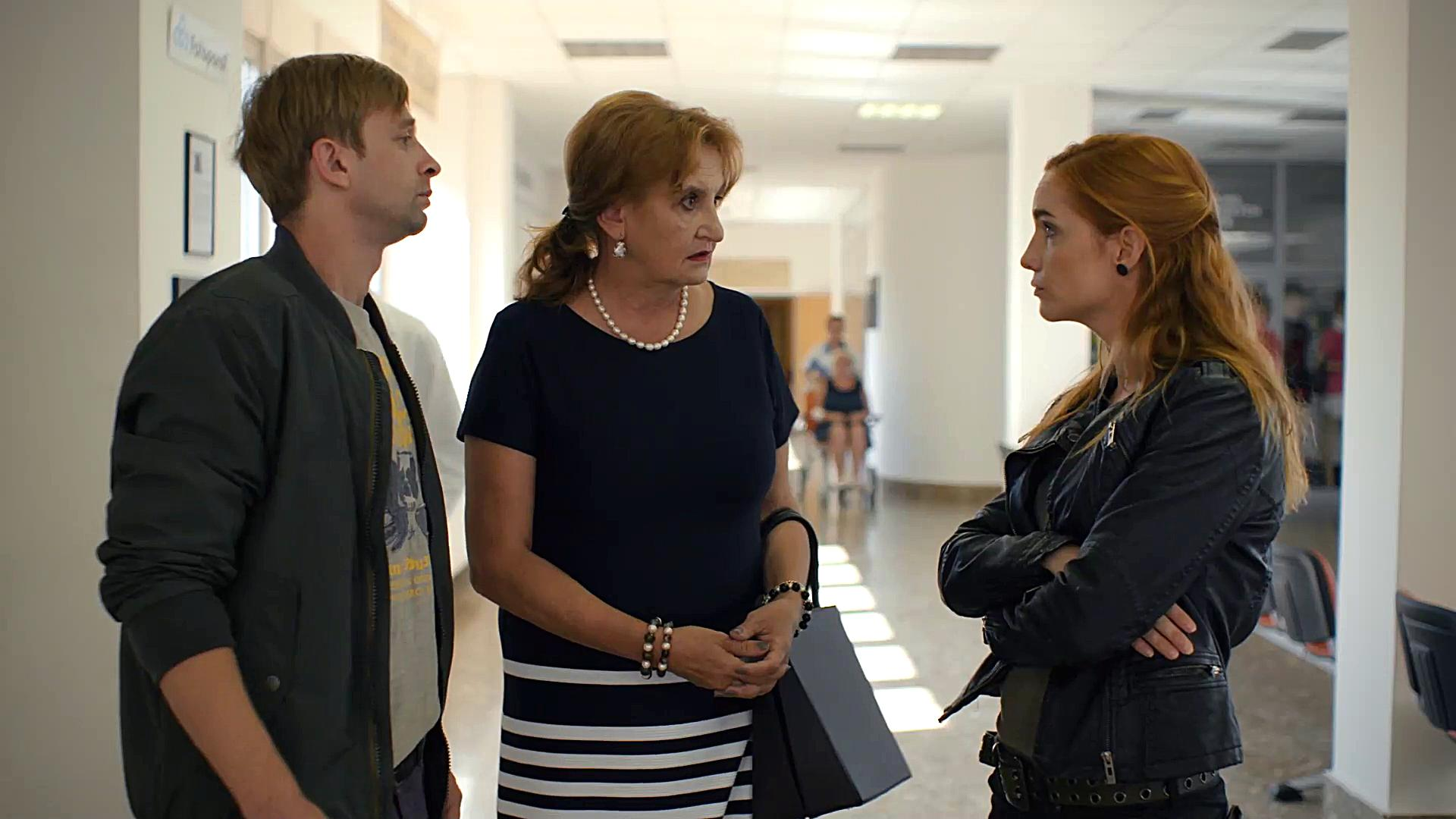 Eva Holubová, Hana Vagnerová, and Lukás Príkazský in Prípad mrtvého neboztíka (2020)