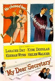 Kirk Douglas, Laraine Day, Rudy Vallee, Helen Walker, and Keenan Wynn in My Dear Secretary (1948)