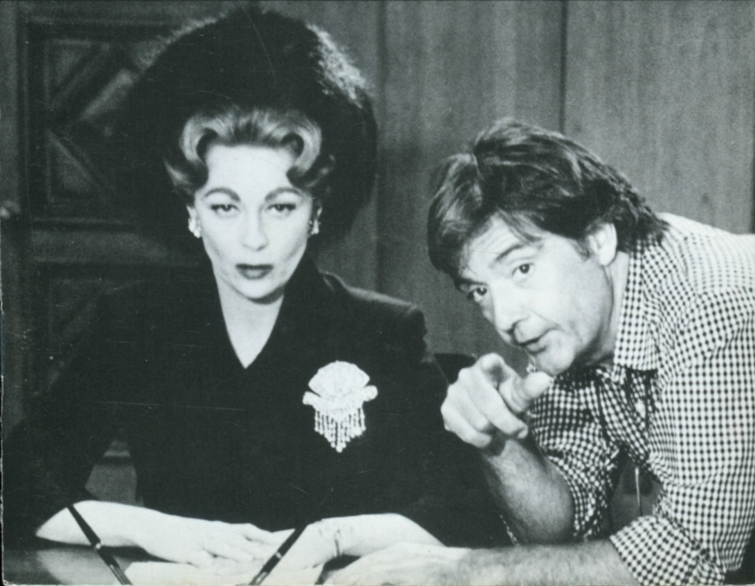 Faye Dunaway and Frank Perry in Mommie Dearest (1981)