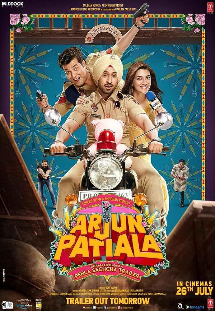 Arjun Patiala (2019) Hindi 720p HDRip x264 Esubs 900MB