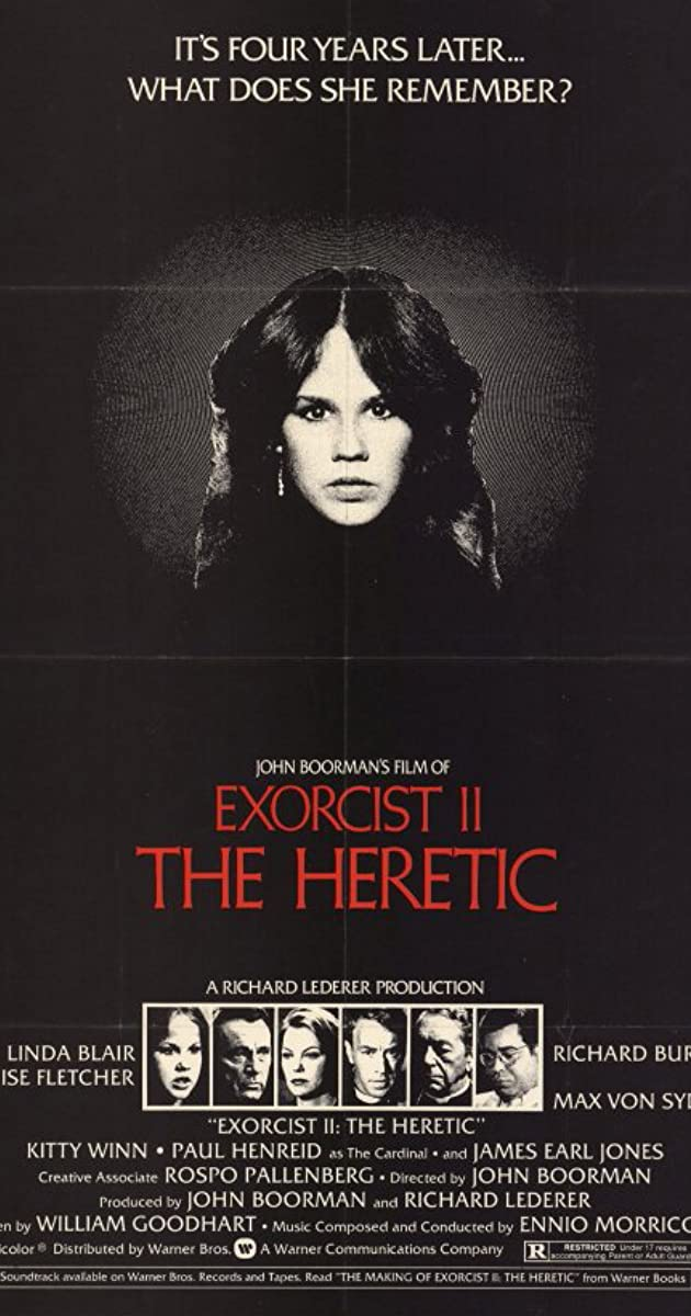 Subtitle of Exorcist II: The Heretic