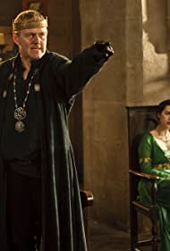 Anthony Head and Katie McGrath in Merlin (2008)