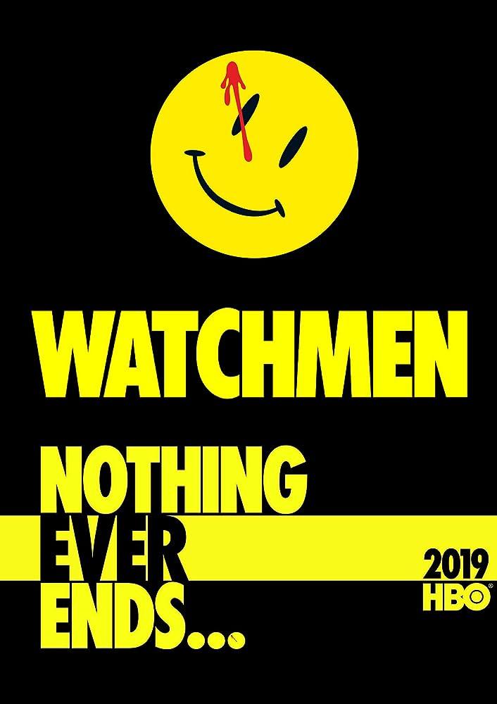 Poster serial TV HBO Watchmen.
