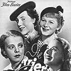 Ingrid Bergman, Ursula Herking, Carsta Löck, and Sabine Peters in Die vier Gesellen (1938)