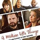Romany Malco, Grace Park, James Roday Rodriguez, Stephanie Szostak, David Giuntoli, Christina Moses, and Allison Miller in A Million Little Things (2018)