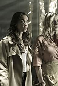 Stella Maeve and Olivia Taylor Dudley in The Magicians (2015)
