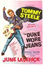 The Duke Wore Jeans (1958) Poster