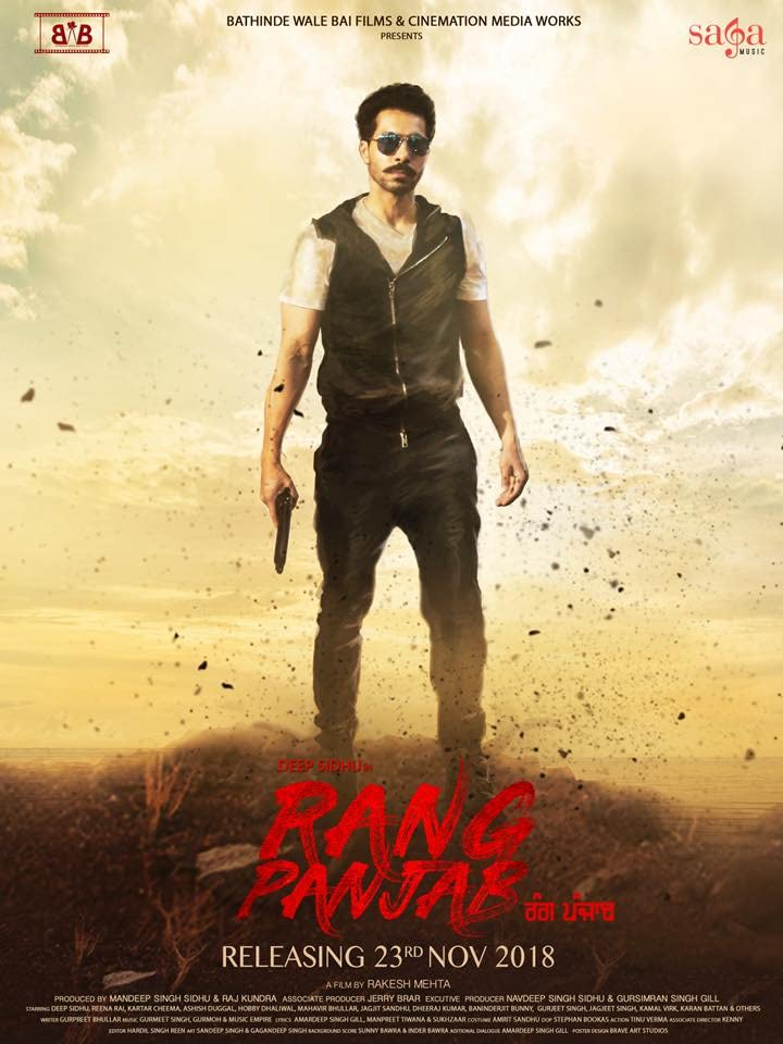 Rang Panjab (2018) Punjabi Movie HDRip 300MB Download