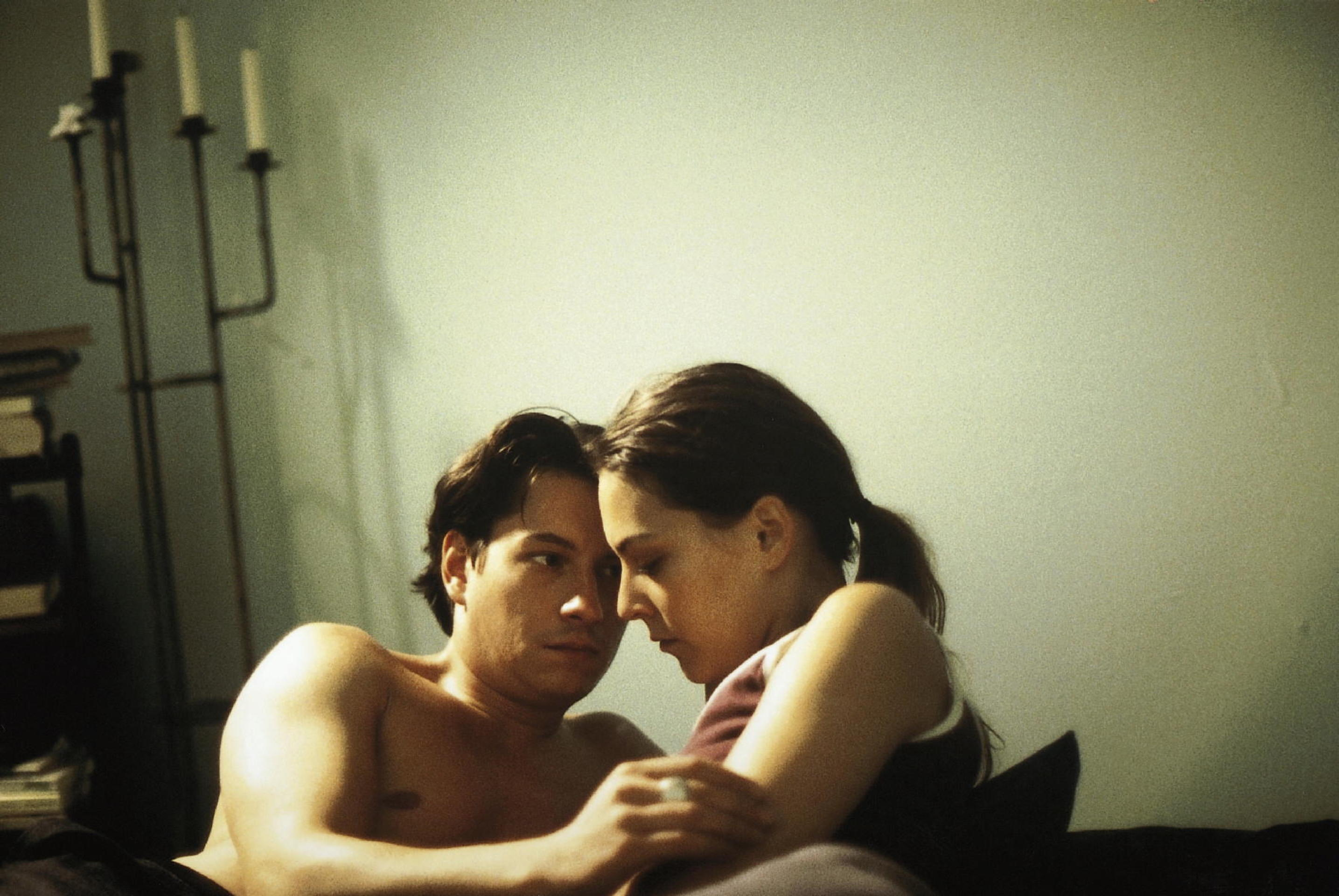 Jana Thies and Marcus Born in Stiller Sturm (2001)
