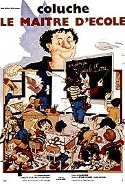Le maître d'école Poster