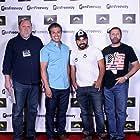 Producer Troy Hart, Pablo De Leon, Armando Suarez, Cinematographer Alberto Kerbow at Ghost Note film Festival
