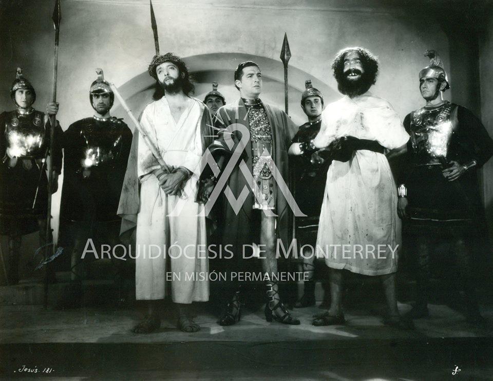 José Baviera, José Cibrián, and José Elías Moreno in Jesús de Nazareth (1942)