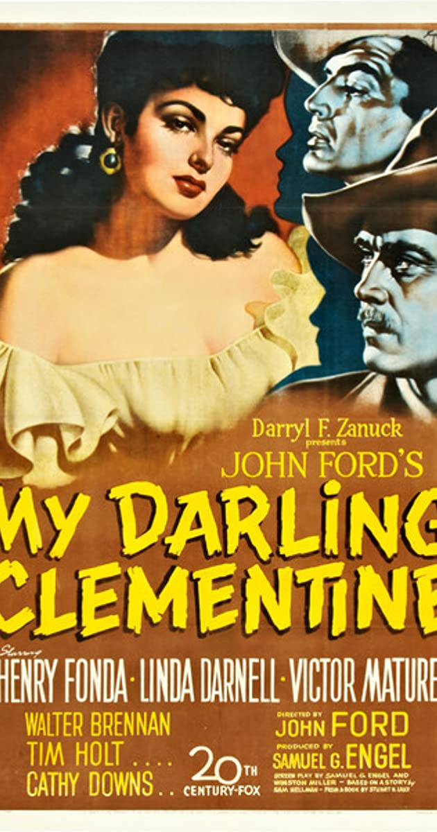 Subtitle of My Darling Clementine