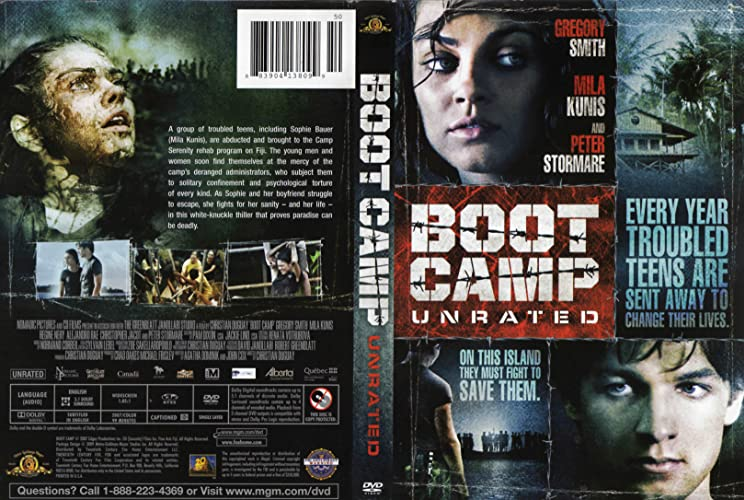 mila kunis boot camp