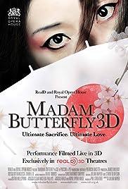 Madam Butterfly 3D Poster