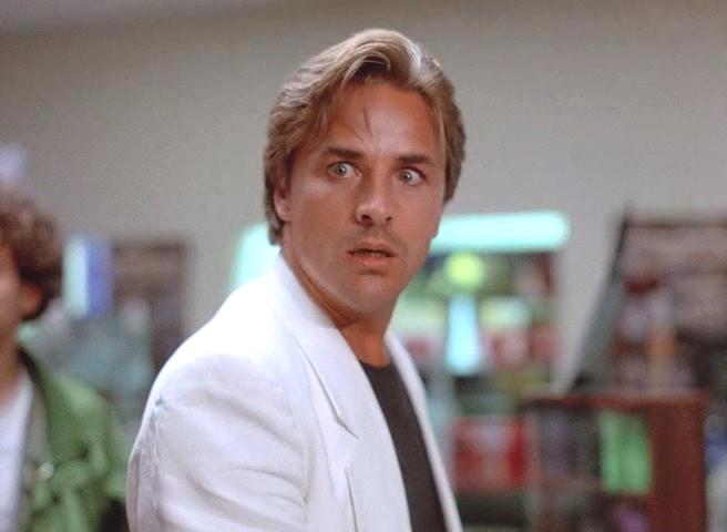 Don Johnson in Miami Vice 1984