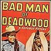 Roy Rogers, Carol Adams, and George 'Gabby' Hayes in Bad Man of Deadwood (1941)