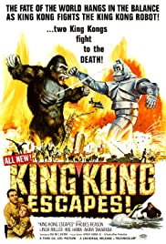 King Kong Escapes (1967) Poster - Movie Forum, Cast, Reviews