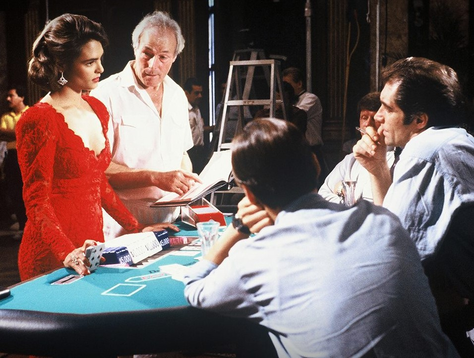 Talisa Soto, Timothy Dalton, and John Glen in Licence to Kill (1989)