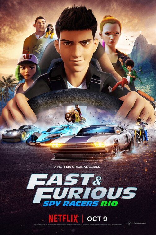 Fast and Furious Spy Racers S02 2020 Hindi Complete Netflix Web Series 600MB HDRip 480p Download
