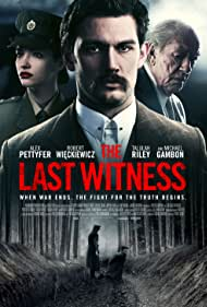 Michael Gambon, Talulah Riley, and Alex Pettyfer in The Last Witness (2018)