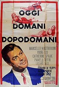Oggi, domani, dopodomani (1968) Poster - Movie Forum, Cast, Reviews