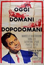 Oggi, domani, dopodomani (1965) Poster - Movie Forum, Cast, Reviews