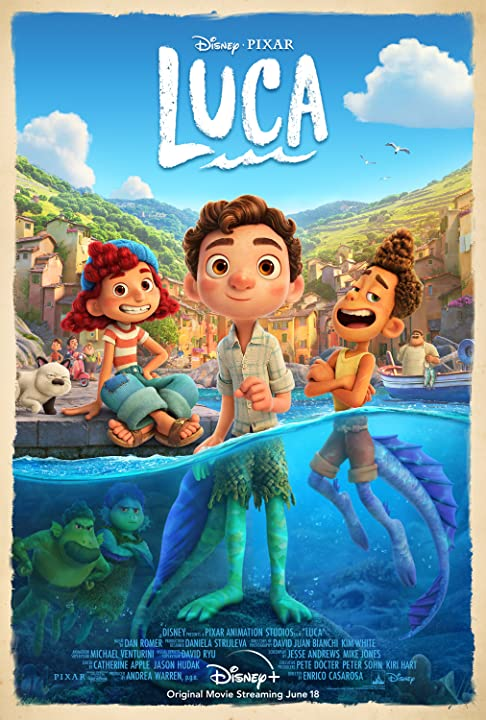 Luca 2021 English 720p HEVC HDRip x265 AAC ESubs Full Hollywood Movie [450MB]