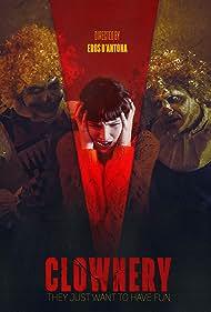 Eros D'Antona, Alex D'Antona, Mirko D'Antona, and Kateryna Korchynska in Clownery (2020)