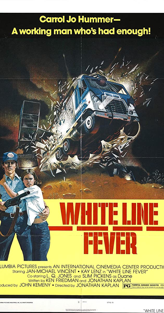 Subtitle of White Line Fever