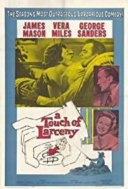 A Touch of Larceny (1960) Poster - Movie Forum, Cast, Reviews